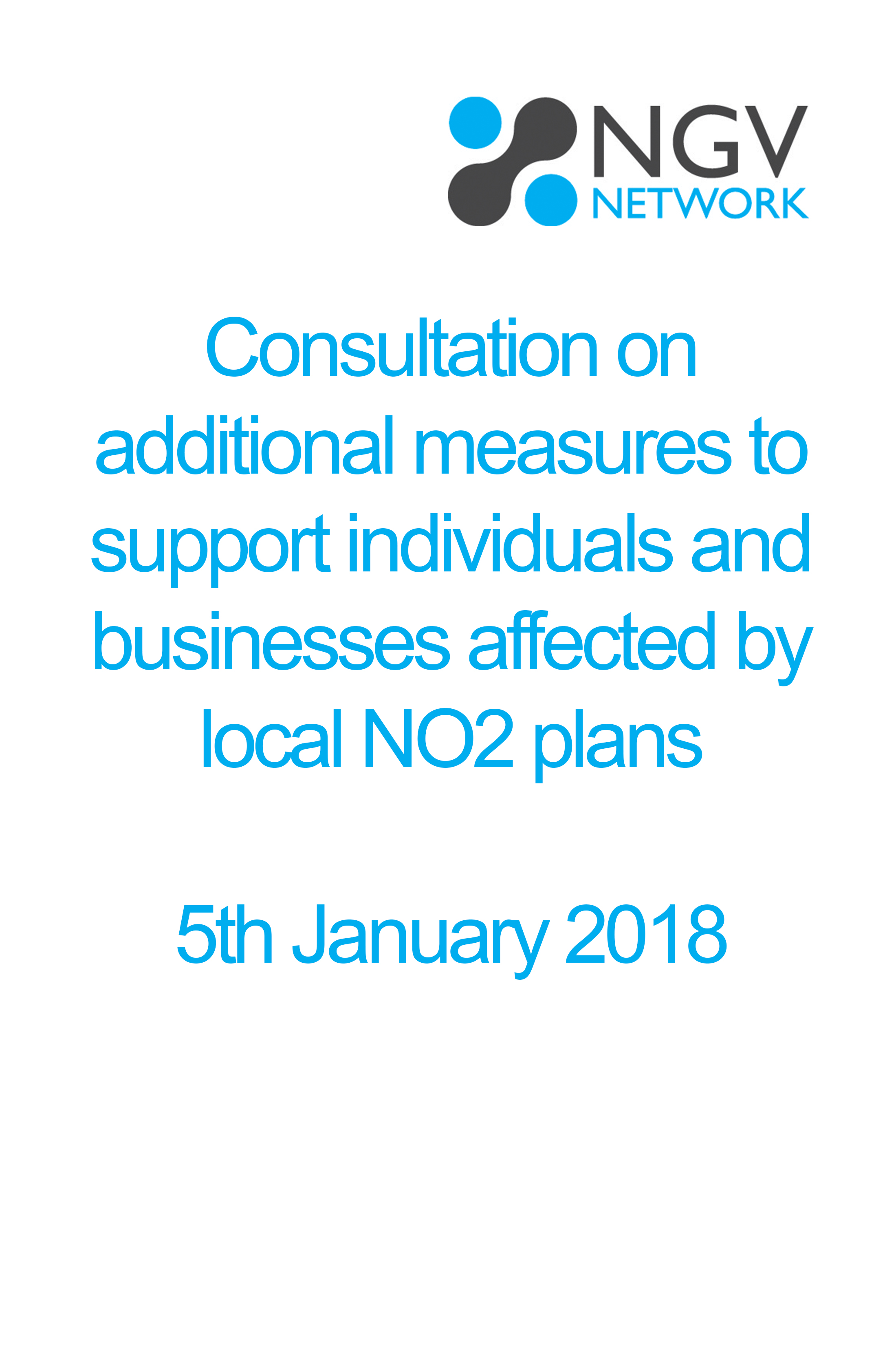 Consultation on additional measures to support individuals and businesses affected by local NO2 plans